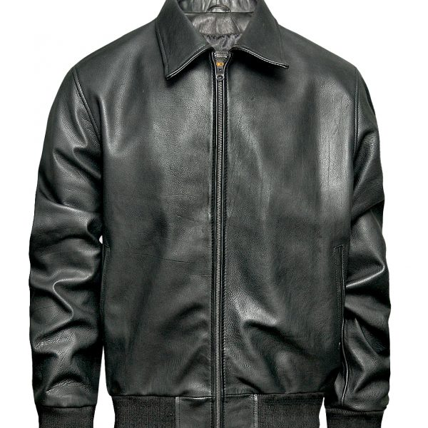 Men's Classic Brown Cow Leather Jacket